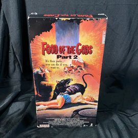 Food of the Gods Part 2 (VHS)