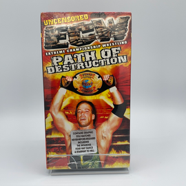 ECW - Path of Destruction (VHS) New / Factory Sealed