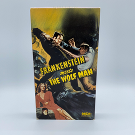 Frankenstein Meets The Wolfman (VHS)