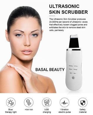 Ultrasonic Skin Scrubber - Basal Beauty