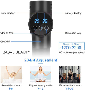 Massage Gun 3000 - Basal Beauty