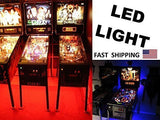 Custom Under Pinball Machine Cabinet Pinball Backlight Kit - fits Any Pinball Machine