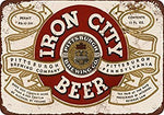 Pittsburgh Iron City Beer Vintage Look Reproduction Metal Tin Sign 12X18 Inches
