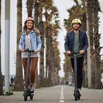 Segway Ninebot E22 Electric Kick Scooter, Upgraded Motor Power, 9-inch Dual Density Tires, Lightweight and Foldable, Dark Grey