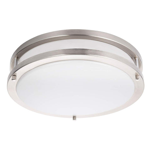 LED Ceiling Light Fixture, 13in Flush Mount Light Fixture, 3200 Lumens, 5000K Daylight White