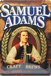 UOOPAI Samuel Adams Beer Metal Tin Sign Tin Poster Vintage Wall Decor
