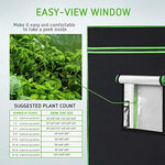Grow tent with window