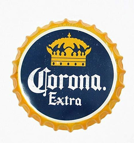 Corona Extra Decorative Beer Bottle Caps Sign