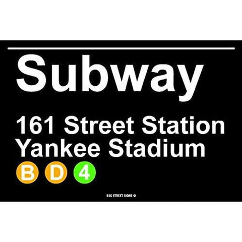 Subway 161 Street Station Yankee Stadium NYC