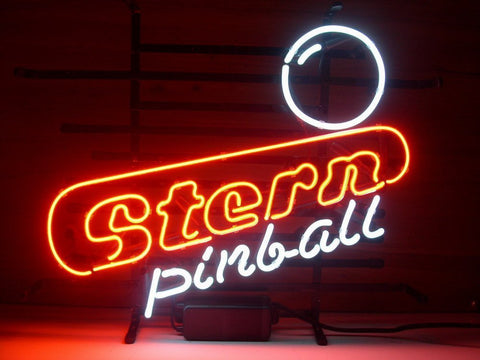 Stern Pinball Custom Handmade Glass Tube Neon Light Sign