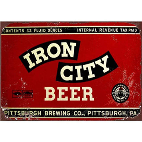 Iron City Beer Retro Sign