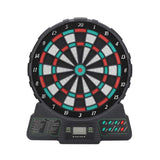 Electronic Dart Board w/12 Inch Soft Tip Dartboard Set, 18 Types of Game Groups