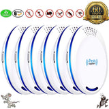 Ultrasonic Pest Repeller Plug in Pest Control - Mice Repellent (6 Pack)