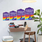 Man Cave Signs rainbows