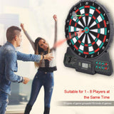 Electronic Dart Board w/18 Types of Games