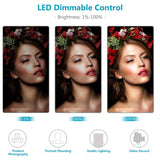 Dimmable LED Light for Studio Portrait and Product Video Shoot