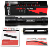 LED Flashlight S2000 - Brightest High Lumen Light with 5 Modes