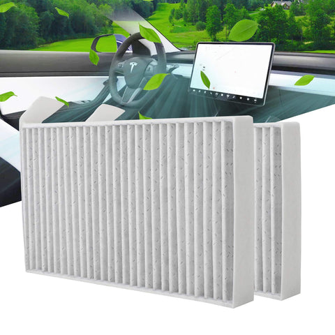 Tesla Model 3 Replacement Cabin Air Filter (Set of Two)
