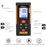 Laser Measure 196Ft with Carry Pouch and Battery Included