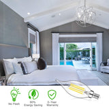 Dimmable E12 LED Candelabra Bulbs 60Watt