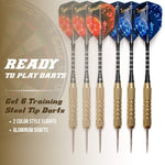 Dart Board Set - Bristle/Sisal Tournament Dartboard