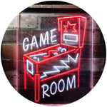 Pinball Man Cave Dual Color LED Neon Sign