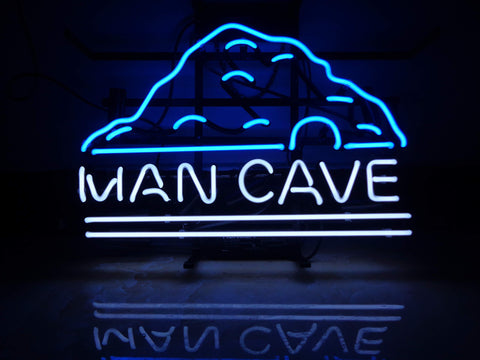 Neon Sign with Real Glass for Man Cave, Bar, Pub, Garage
