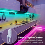 LED Strip Lights 32.8ft Waterproof Color Changing Light Strips with Remote