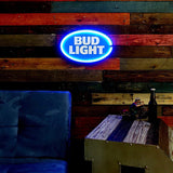 Bud Light - Reproduction Advertising Oval Sign