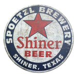 Shiner Beer Sign Texas Vintage