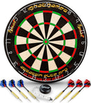 Professional Dart Board Set - Bristle/Sisal Tournament Dartboard