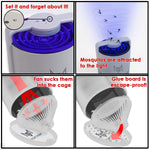 Mosquito Trap Indoor Insect Trap - no zap Kills Tiny Flying Bugs, Mosquitos, gnats, more