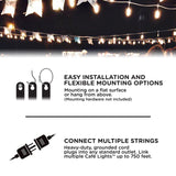 Color Changing Café String LED  Lights for yard
