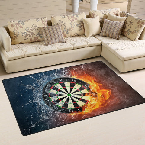 Dart Board Area Rug