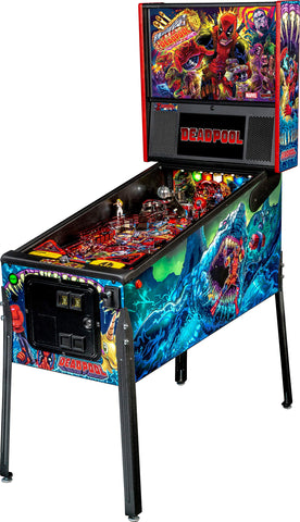 Stern Pinball Deadpool Arcade Pinball Machine, Premium Edition SuccessActive