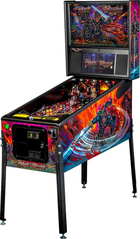 Knight Sword of Rage Arcade Pinball Machine, Premium Edition
