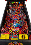 Stern Pinball Deadpool Arcade Pinball Machine, Premium Edition Playfield
