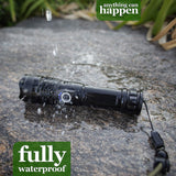 LED Flashlight 19W 4000 lumen Waterproof