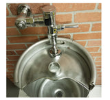 STAINLESS STEEL KEG URINAL