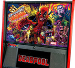 Deadpool Pinball Machine, Premium Edition Playfield translite