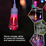 Warm White & Color Changing Café String LED  Lights