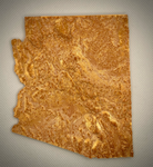 3D Printed version of Arizona United States