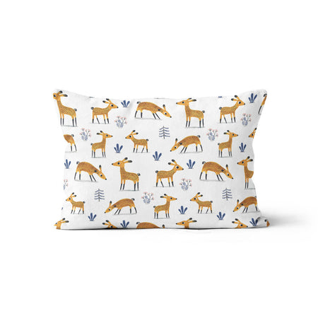 Deers (Élise Gravel) - bamboo muslin pillowcase