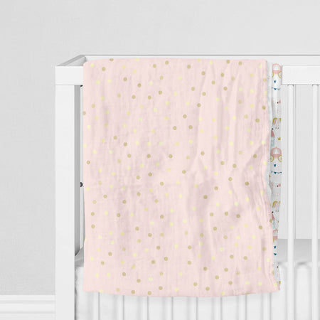 Satin castle - bamboo muslin 4 layers