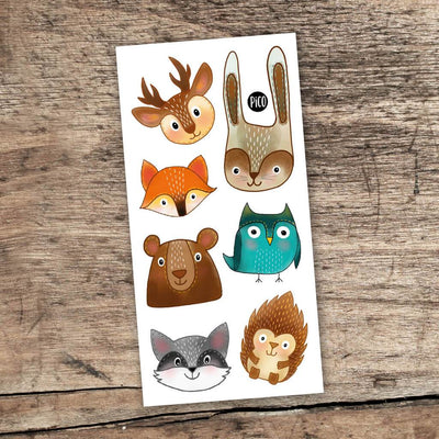 Children tattoos*** -  The animals of the forest - PICO tattoos