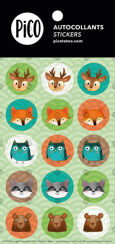 Stickers*** - The animals of the forest - PICO tattoos