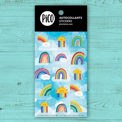 Stickers - Colorful Rainbows - PICO tattoos