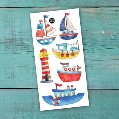 Children tattoos*** -  Sail my boat - PICO tattoos