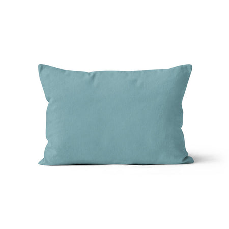 Satin castle - minky pillowcase