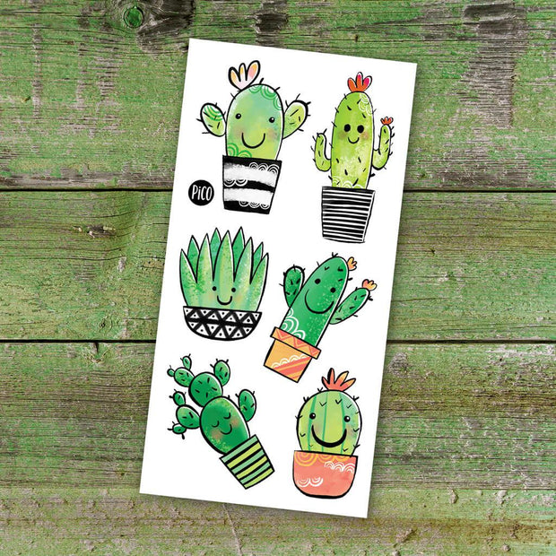 Children tattoos*** -  Cute cactus - PICO tattoos